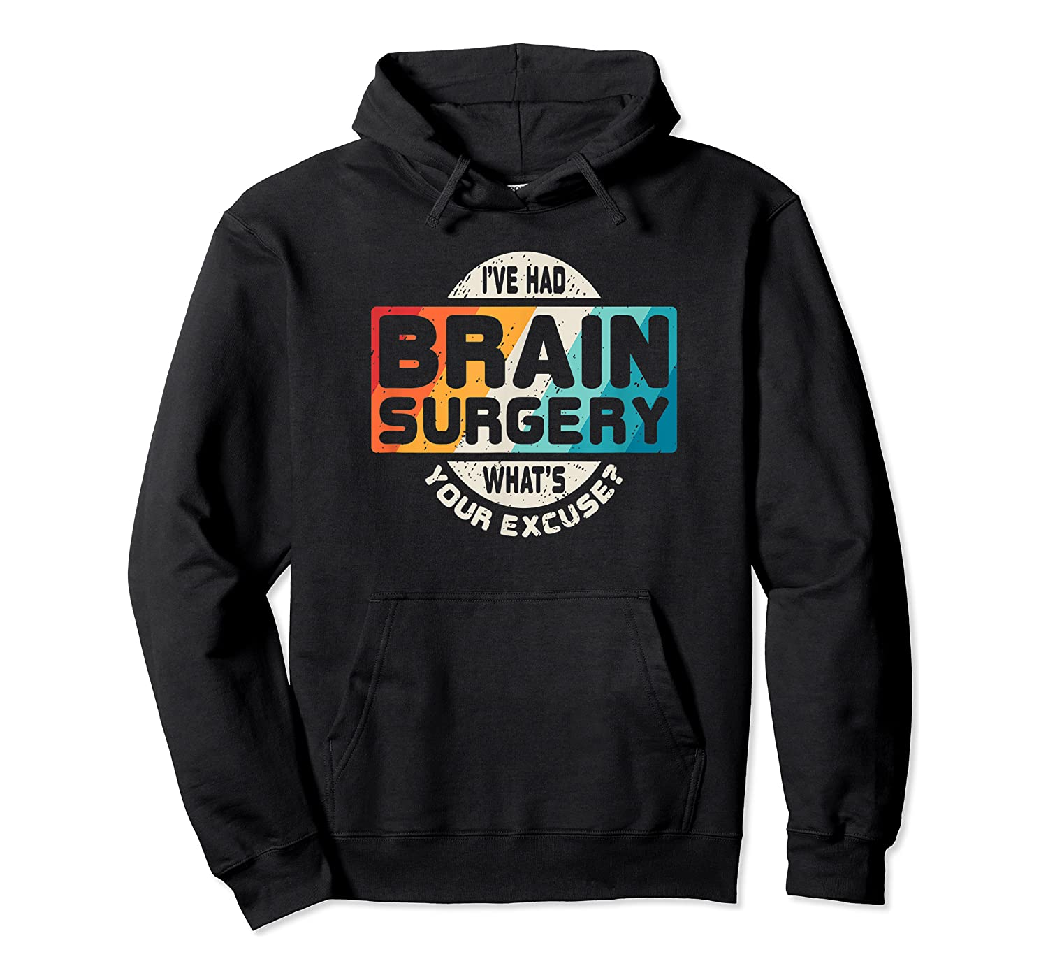 Brain Surgery Shirt Survivor Post Cancer Tumor Recovery Gift Unisex Pullover Hoodie