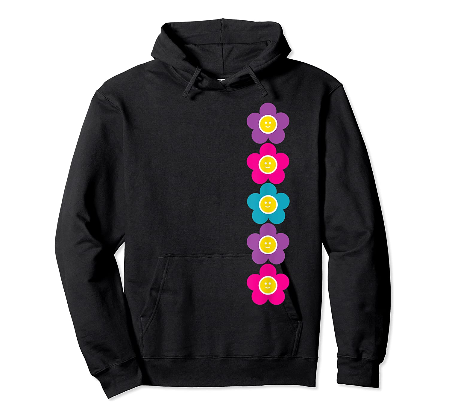 Daisy Flower Pattern Happy, Fun, Bright And Colorful Shirts Unisex Pullover Hoodie