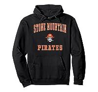 Stone Mountain High School Pirates Shirts Hoodie Black