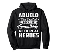 365 Abuelo Funny Grandpa Grandfather Gift Shirts Hoodie Black