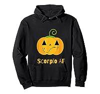 Scorpio Af Zodiac Constellation T-shirt Hoodie Black