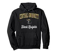 Central Gwinnett High School Black Knights Shirts Hoodie Black