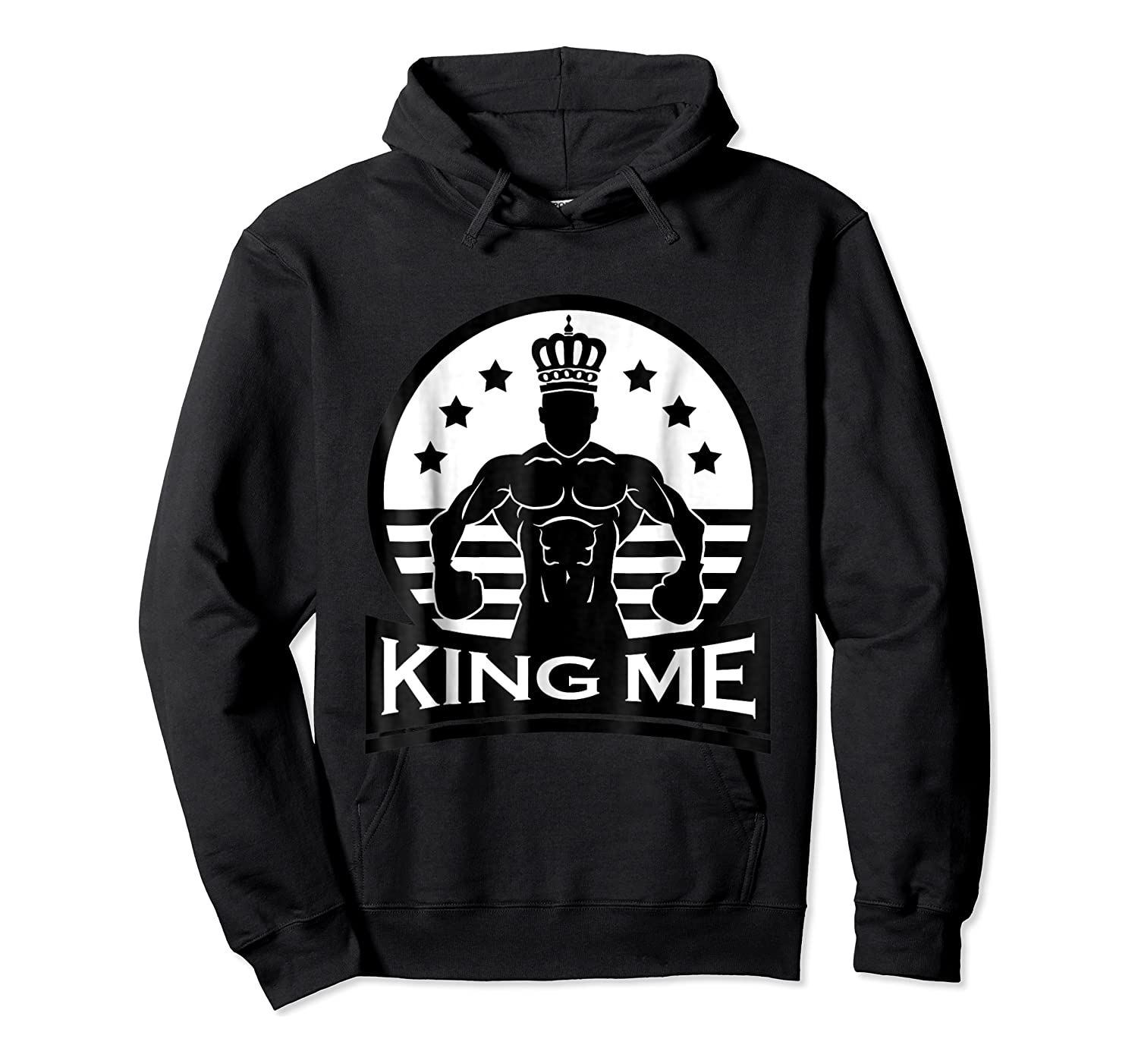Grand Arte: King Me Boxing T-shirt Unisex Pullover Hoodie