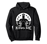 Grand Arte: King Me Boxing T-shirt Hoodie Black