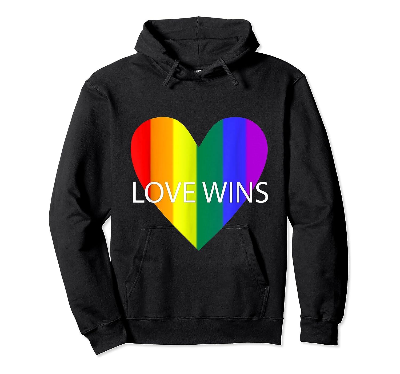 Gay Pride Lesbian Bisexual Transgender Shirts Unisex Pullover Hoodie