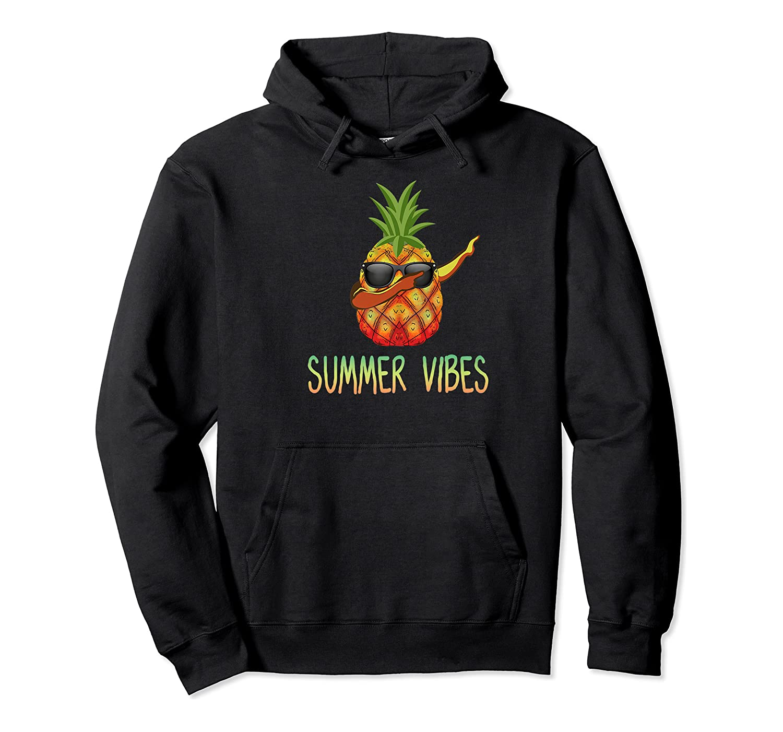 Dabbing Pineapple Summer Vibes Hawaii Aloha Sun Fun Gift Premium T-shirt Unisex Pullover Hoodie