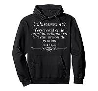 Camisetas Cristianas Con Versiculo Biblico Colosenses 42 Shirts Hoodie Black