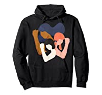 Girls And Unity Power In Diversity Feminist Shirts Hoodie Black