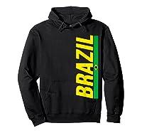 Brazil T-shirt Brazilian Flag Brasil Gift Souvenir Camiseta Hoodie Black