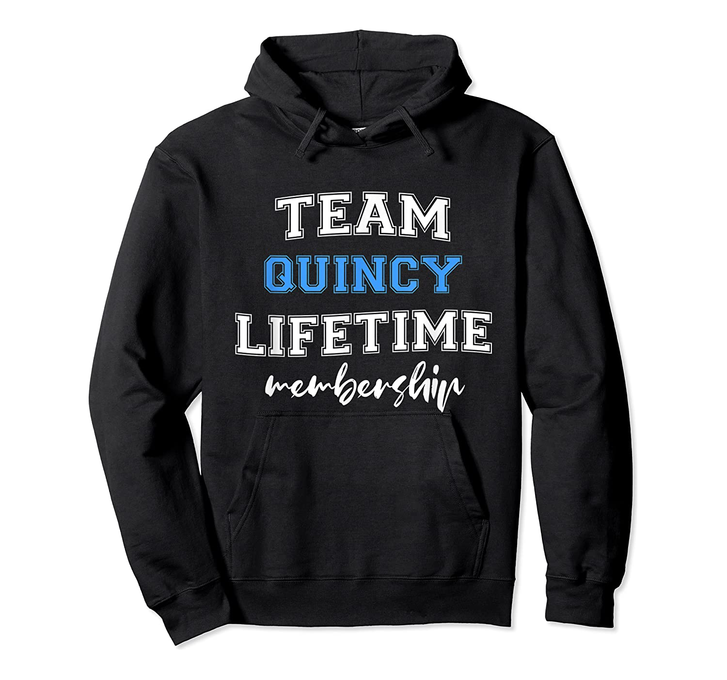 S Team Quincy Groom Squad Custom Bachelor Party Wedding T-shirt Unisex Pullover Hoodie