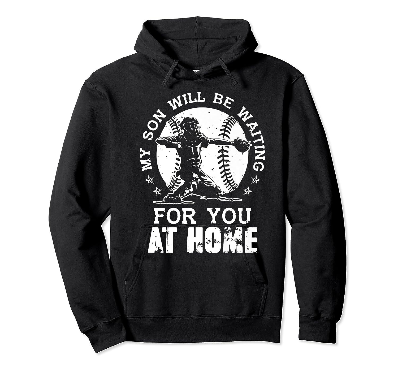 Baseball Mom Apparel Baseball Dad Merchandise Premium T-shirt Unisex Pullover Hoodie