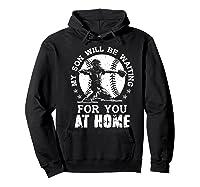 Baseball Mom Apparel Baseball Dad Merchandise Premium T-shirt Hoodie Black