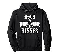 Kisses Graphic Shirts Hoodie Black