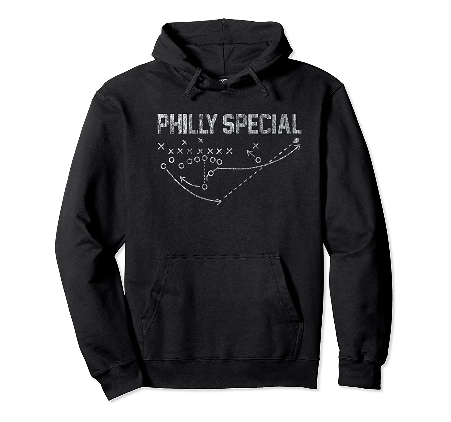 Philly Special Distressed Shirts Unisex Pullover Hoodie