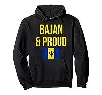 Bajan Proud Barbados Flag Caribbean Shirts Hoodie Black