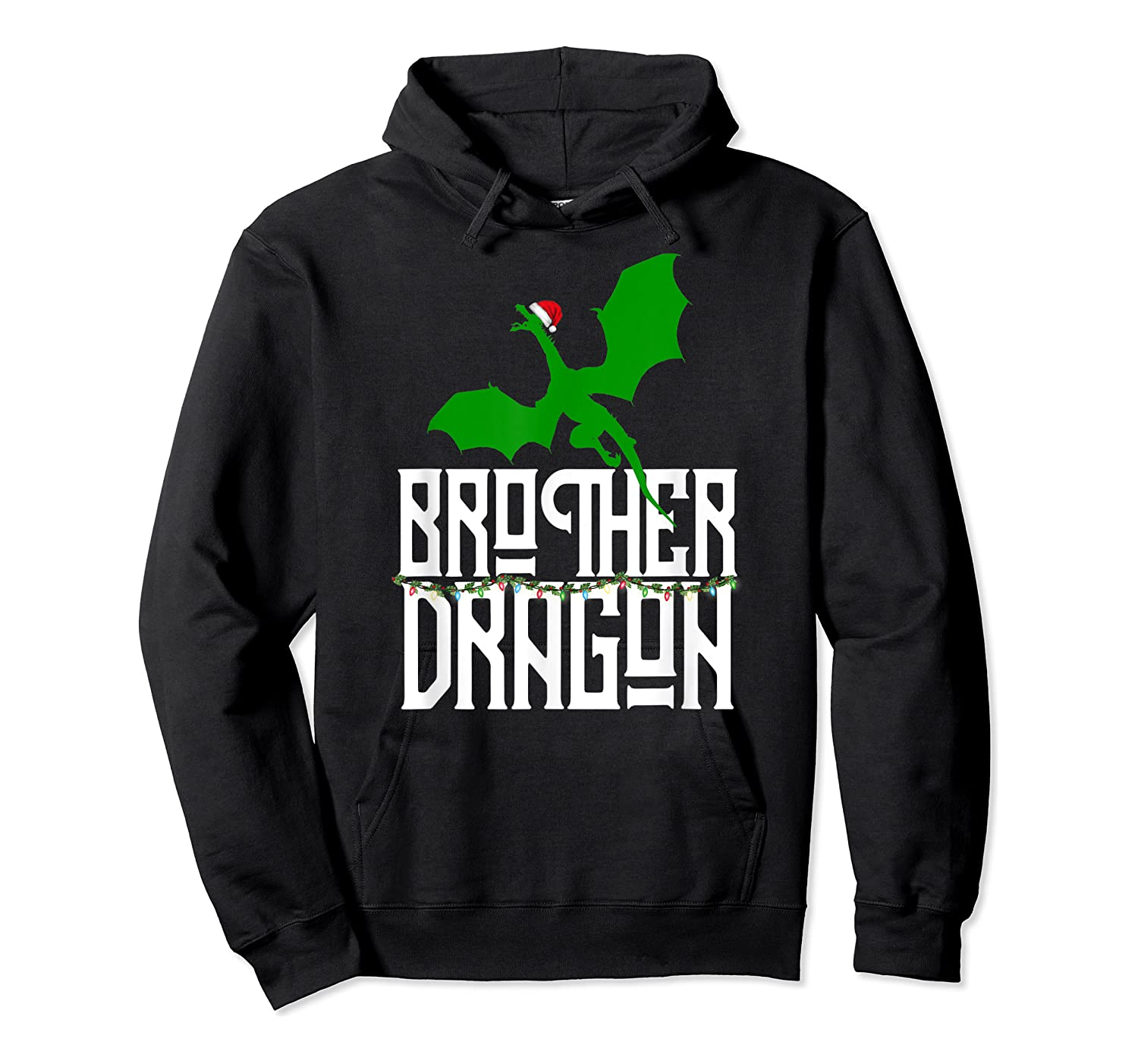 Brother Dragon Christmas Shirt Matching Family Tribe Son Boy T-shirt Unisex Pullover Hoodie