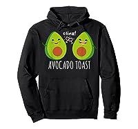Cute Toast For Trendy Millennials Shirts Hoodie Black