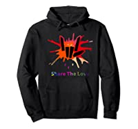 Share Love For And Shirts Hoodie Black