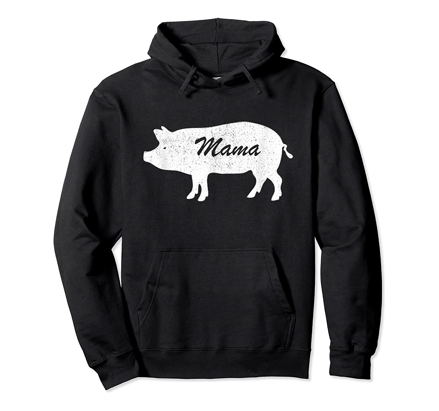 Mama Pig Animal Farm Father Mother Day Son Daughter Gift Shirts Unisex Pullover Hoodie