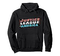 Justice League Logo Jla Classic 01 Shirts Hoodie Black