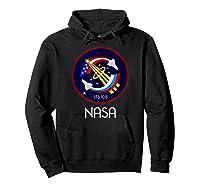 Approved Nasa Shirts Hoodie Black