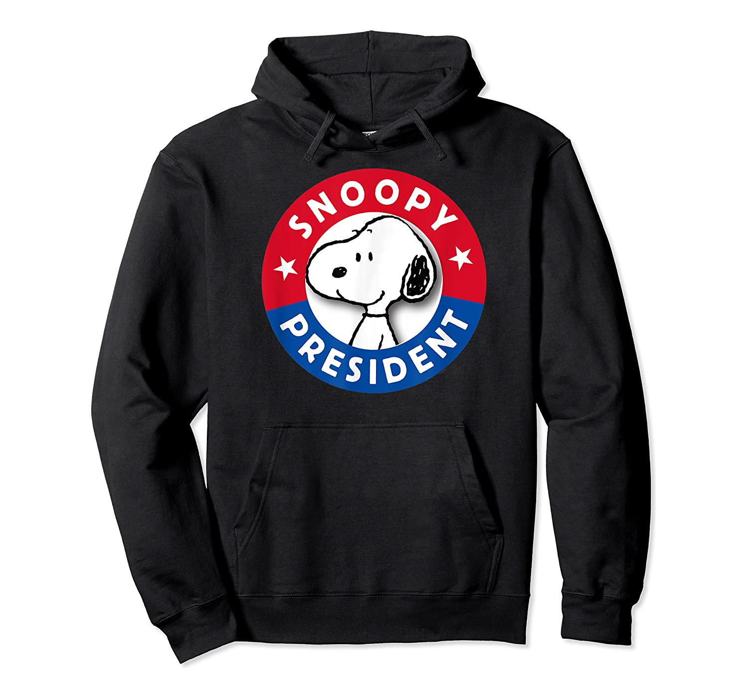Peanuts Snoopy For President Shirts Unisex Pullover Hoodie