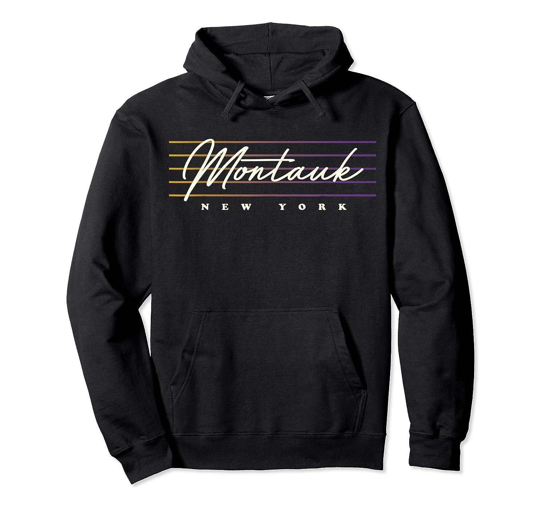 Monta Nostalgic Retro Style New York T-shirt Unisex Pullover Hoodie