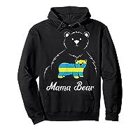 Down Syndrome Mom Awareness Trisomy 21 Gold Blue Ribbon Gift T-shirt Hoodie Black