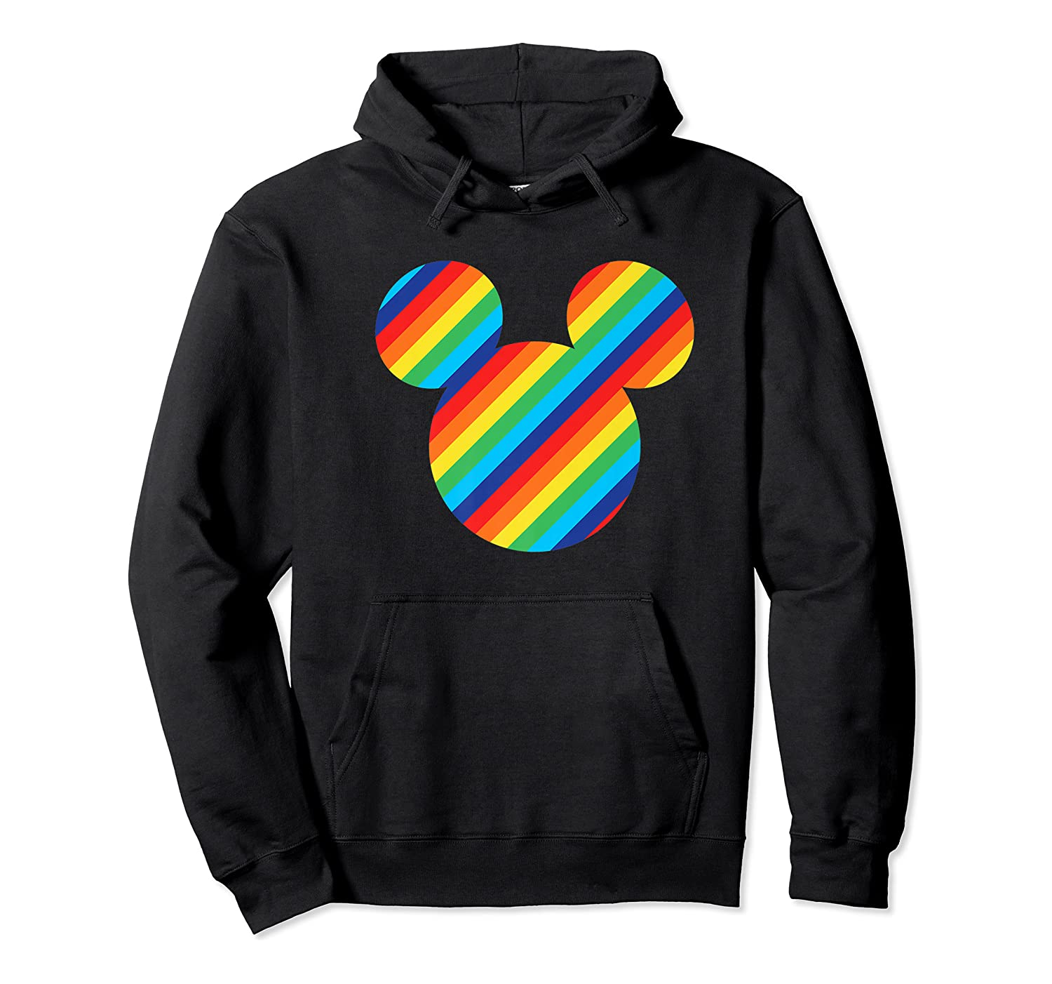 Mickey Mouse Rainbow Icon Shirts Unisex Pullover Hoodie