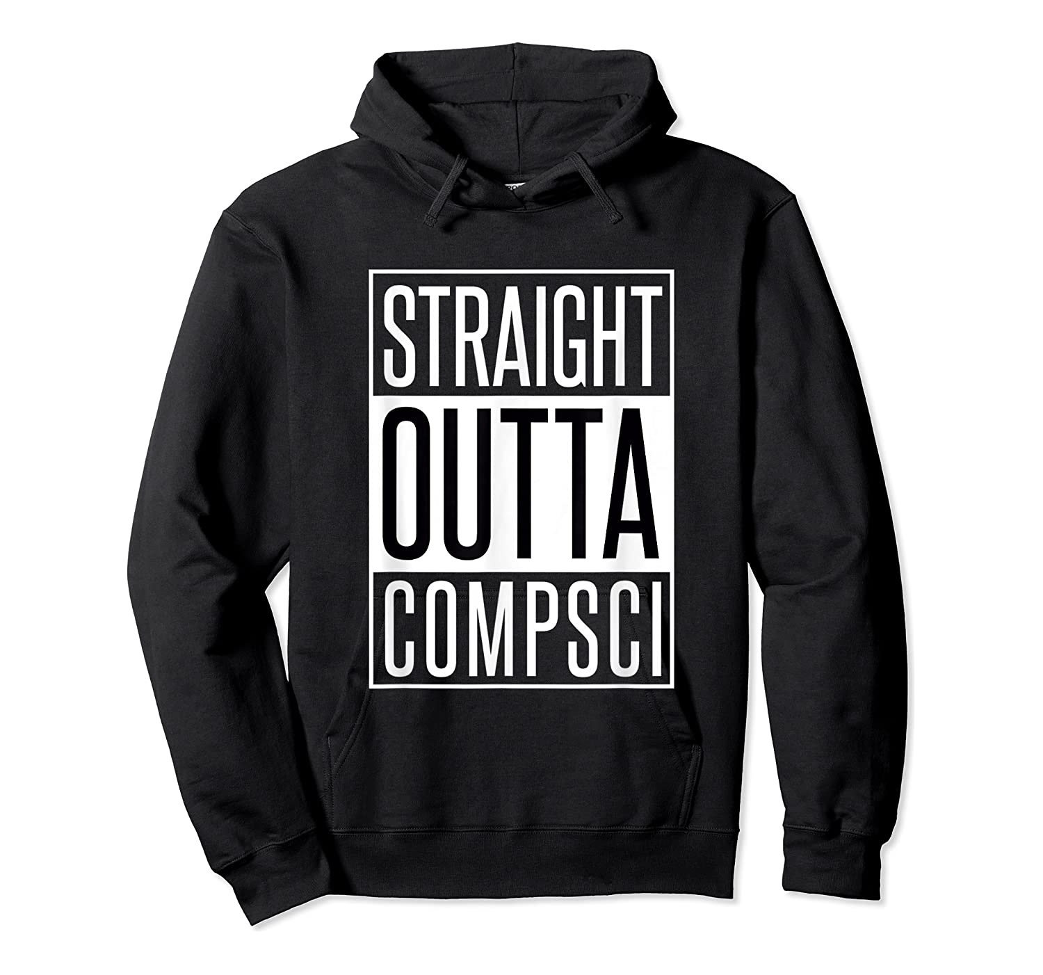 Computer Science Straight Outta Comp Sci Parody Shirts Unisex Pullover Hoodie