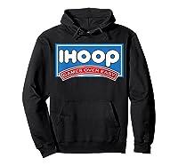 Ihoop Fun Basketball Shirt - Games Over Easy Graphic T-shirt Hoodie Black