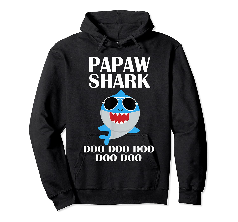 Papaw Shark T-shirt Doo Doo Doo Fathers Day Papaw Shirt Unisex Pullover Hoodie