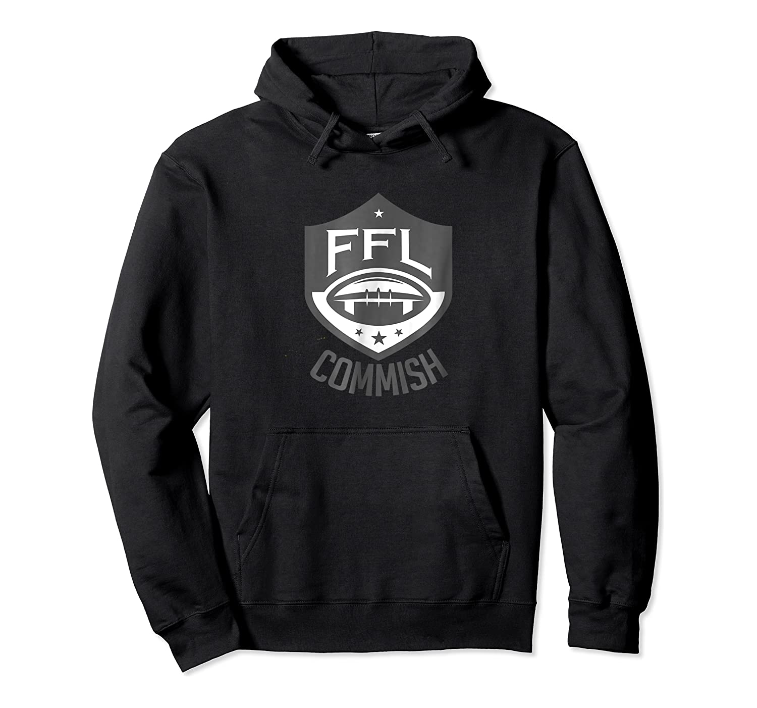 Fantasy Football League Commish T Shirt Unisex Pullover Hoodie