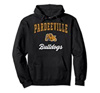 Pardeeville High School Bulldogs Premium T-shirt Hoodie Black