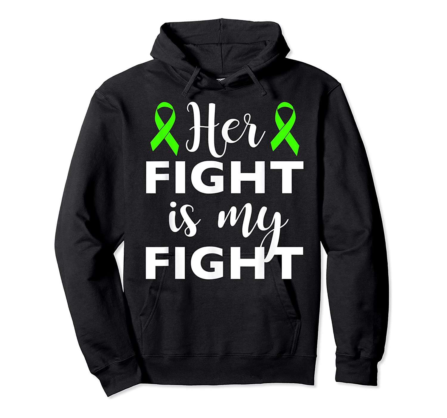 Her Fight Is My Fight Lymphoma Awareness T-shirt Unisex Pullover Hoodie
