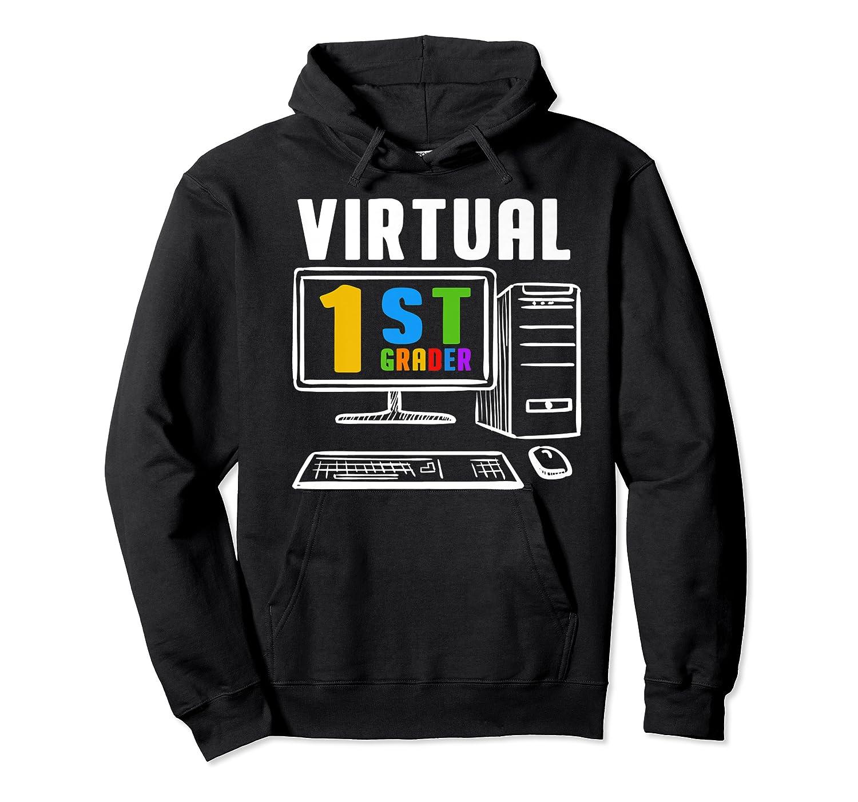 Remote Teaching Online Learning Virtual Tea Premium T-shirt Unisex Pullover Hoodie