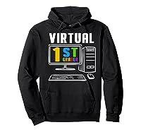 Remote Teaching Online Learning Virtual Tea Premium T-shirt Hoodie Black