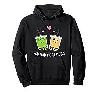 You Had Me At Boba Tea Shirts Hoodie Black