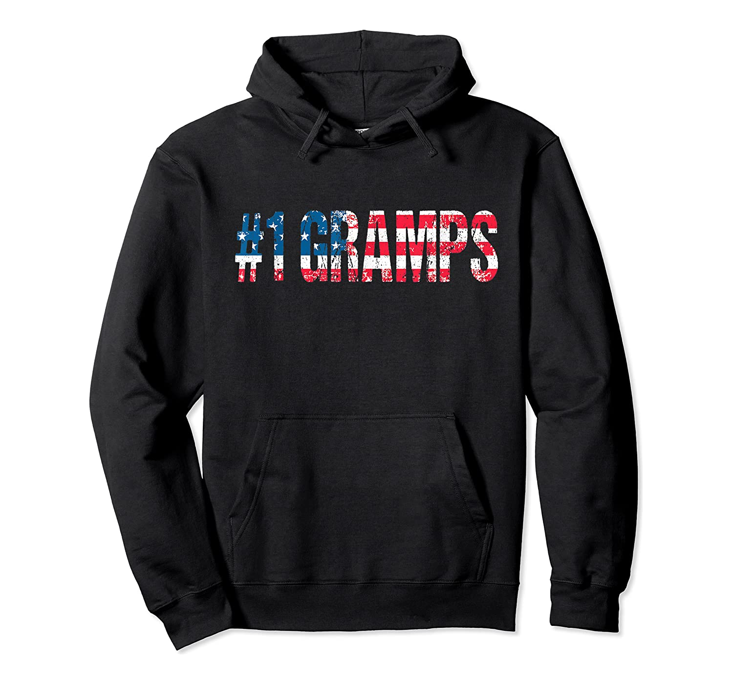 S 4th Of July Grandpa Vintage Usa American Flag Gramps Gift T-shirt Unisex Pullover Hoodie