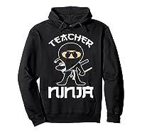 Ninja Tea Cool Art Teaching Lover Gift Shirts Hoodie Black