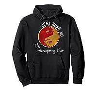 Jeet Kune Do Martial Arts Funny Intercepting Fist T-shirt Hoodie Black