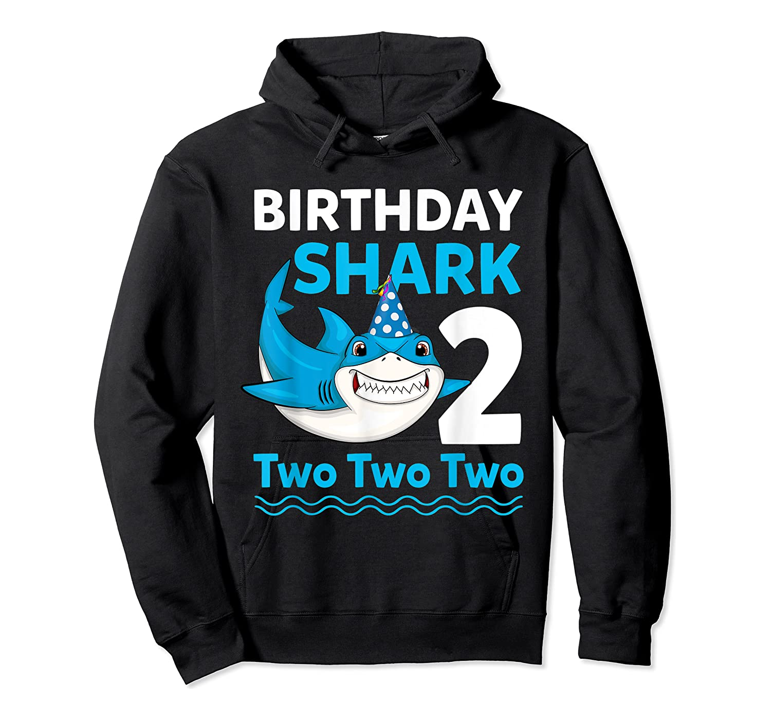 Birthday Shark 2017 2 Years Old Gift For Boy Girl Shirts Unisex Pullover Hoodie