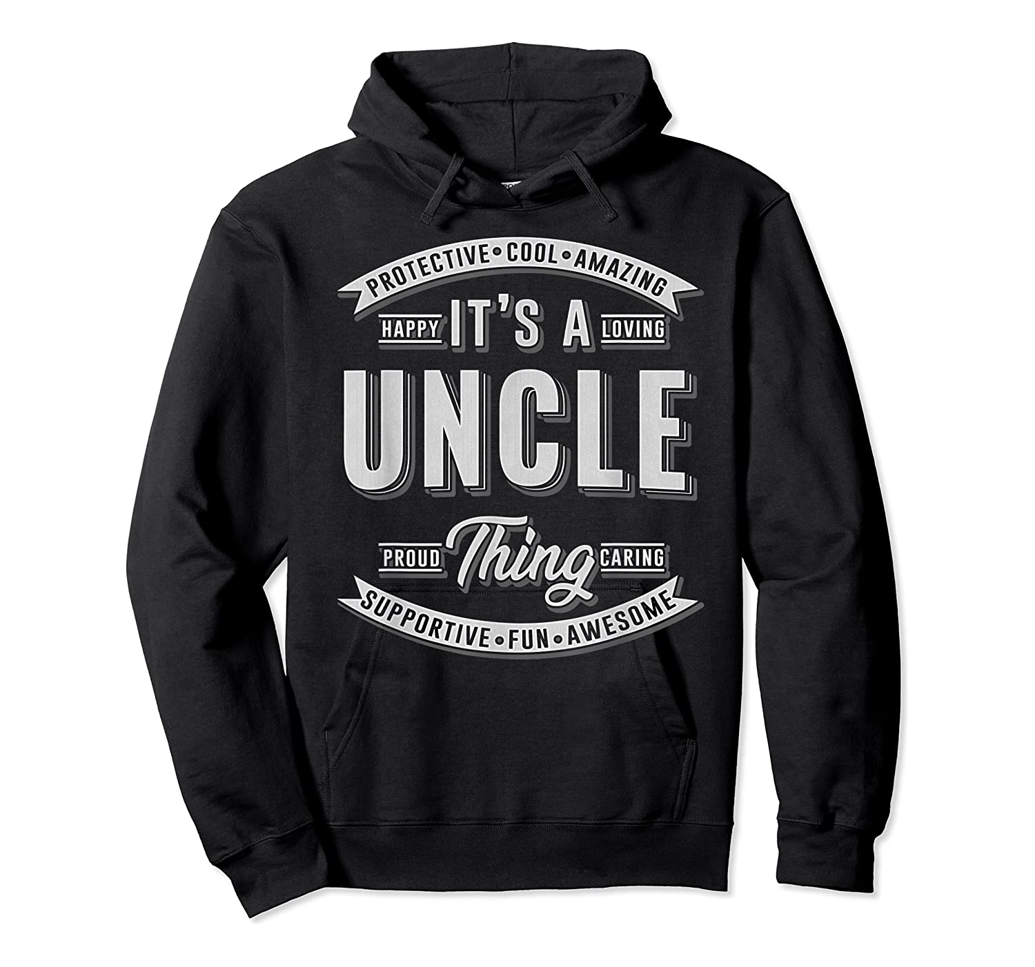 Family 365 Father's Day Gift - It's A Uncle Thing Relative T-shirt Unisex Pullover Hoodie