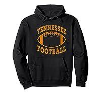 Tennessee Football Vintage Distressed Premium T-shirt Hoodie Black