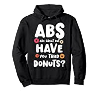 Diet Gift For Him But Doughnut Donut Lover S Foodie Shirts Hoodie Black