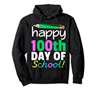 100th Day Of School Grade Tea Shirts Hoodie Black