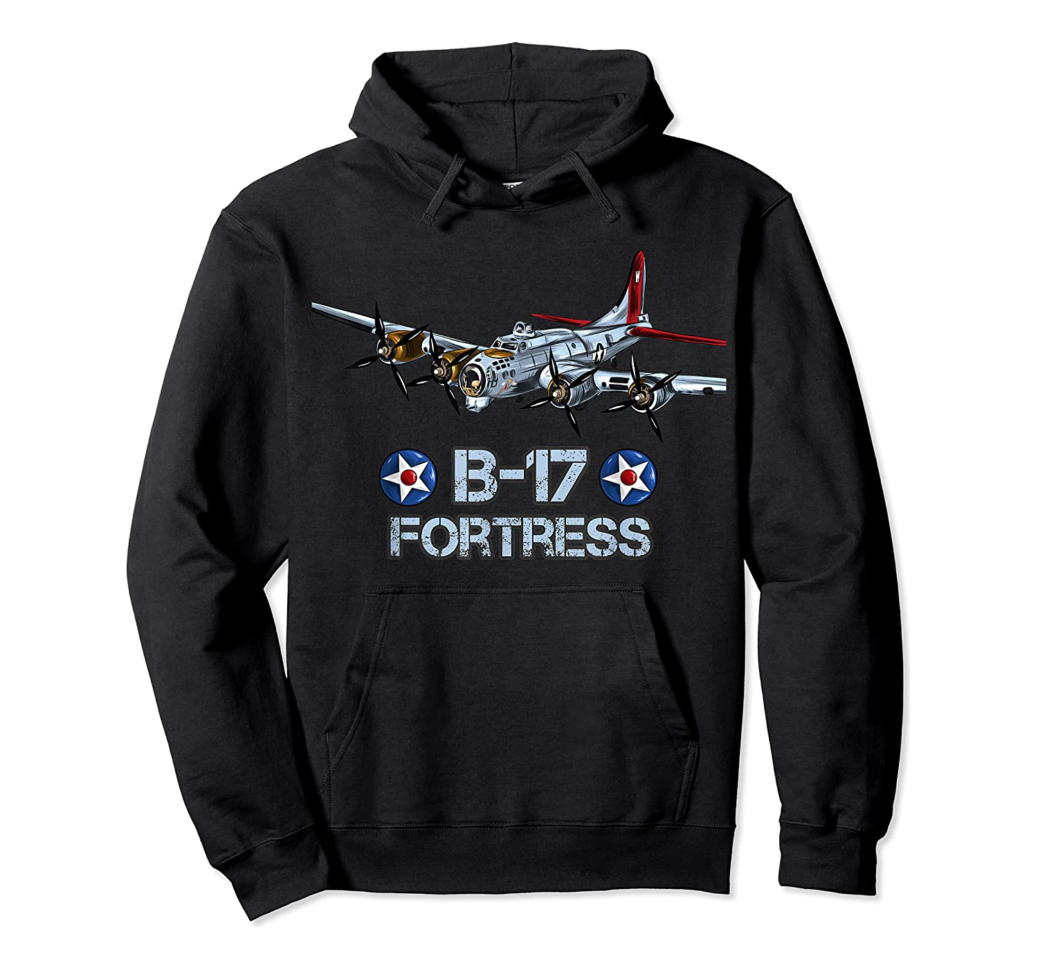 Ww2 Aviation B 17 Flying Fortress Gift Shirts Unisex Pullover Hoodie