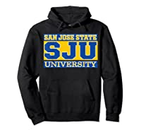 San Jose State 1887 University Apparel Shirts Hoodie Black