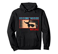 Waylon Jennings Hangin Tough Merchandise Shirts Hoodie Black