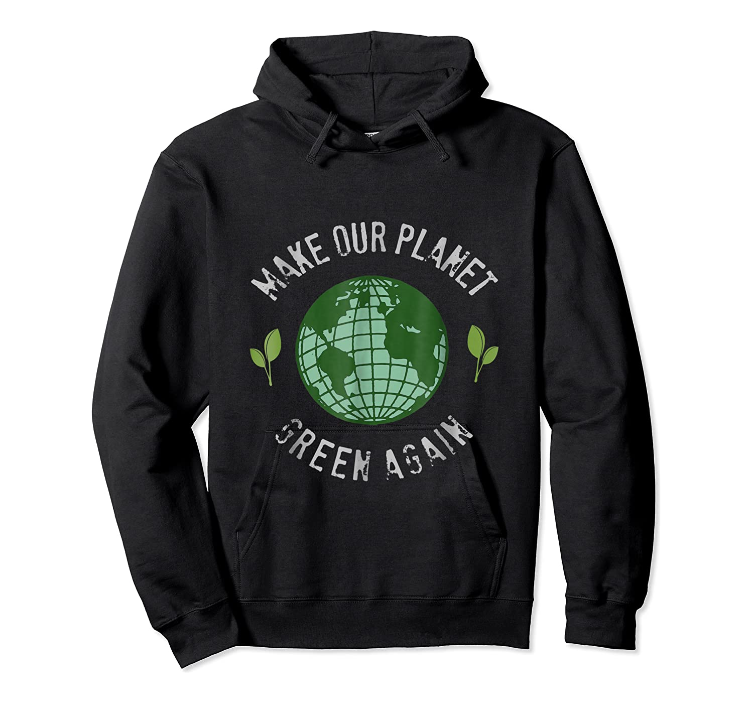 Climate Change Warming Raise Awareness Planet Shirts Unisex Pullover Hoodie
